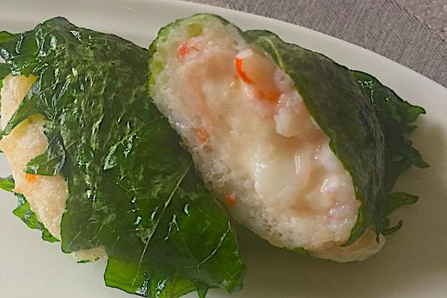 元気の源、大和芋をアツアツ&フワフワの「えびしんじょう」で!