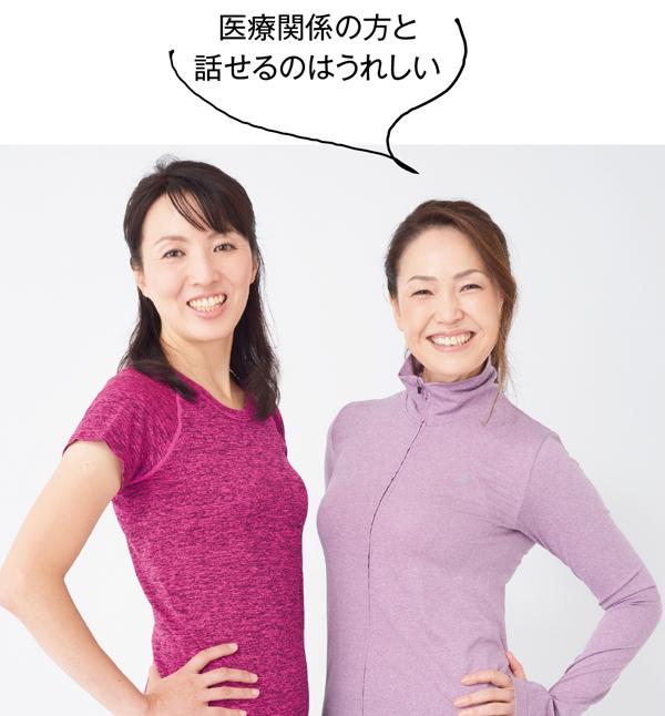 骨盤まわり 田舎中真由美さん&kyoさん