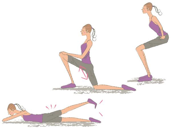 骨盤まわり 運動