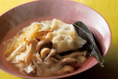「手作り」発酵食が大ブーム!⑧乳酸発酵漬物/きのこ餃子のスープ