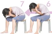 体の緊張を緩める「うずくまり呼吸法」
