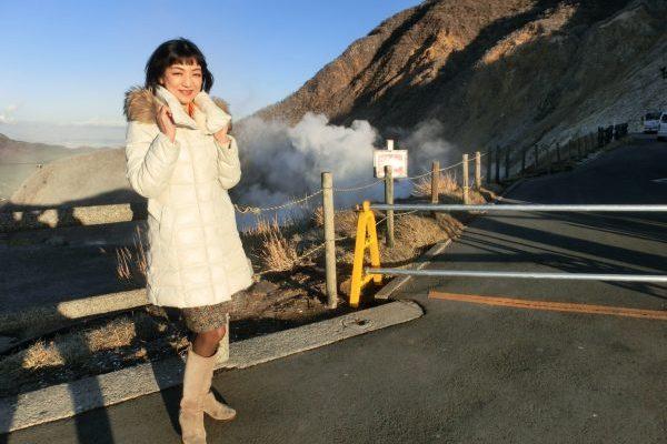外国人観光客人気スポット箱根〜芦ノ湖と大涌谷へ