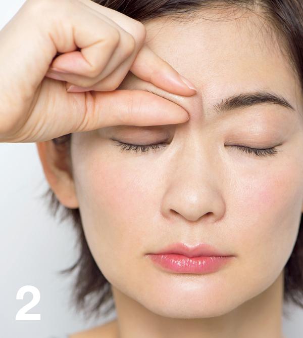 顔たるみ 上眼挙筋・眼輪筋膜2