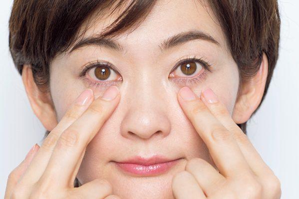 目のたるみには、眼窩下リガメント(靭帯)ケア