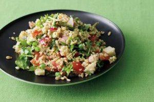 スーパー大麦レシピ②/キヌアとスーパー大麦のタブレ