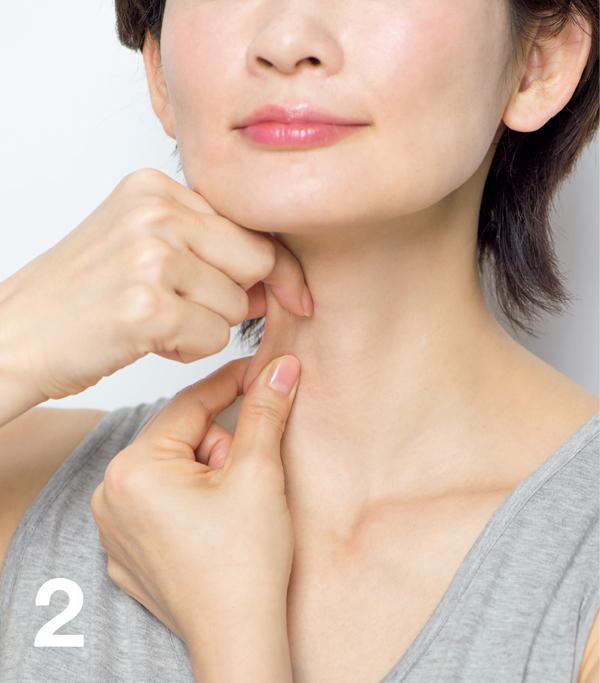 顔たるみ 胸鎖乳突筋膜2