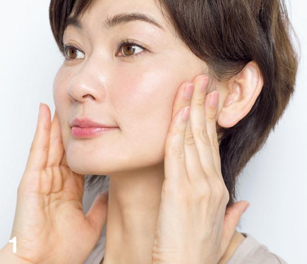 顔たるみ 耳下腺リガメント1