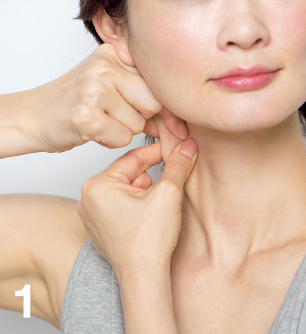 顔たるみ 胸鎖乳突筋膜1