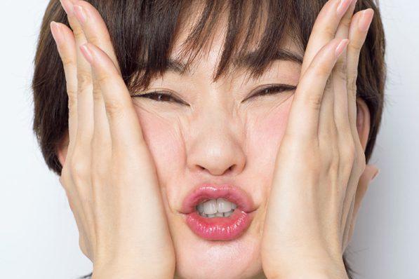 幸せ筋アップ&不幸筋膜はがし/ 幸せ筋引き上げ②鼻下や口元のたるみに効く!