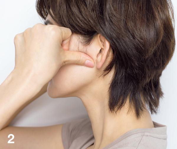 顔たるみ 耳下腺リガメント2