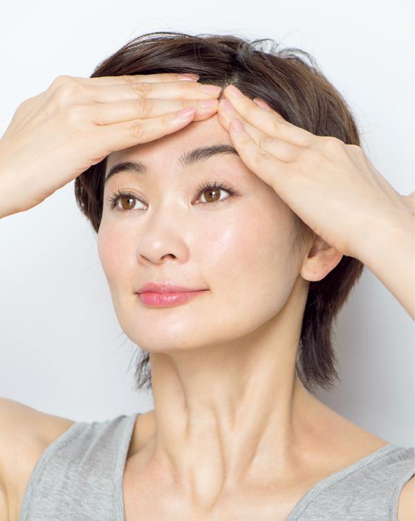 顔たるみ 前頭筋膜