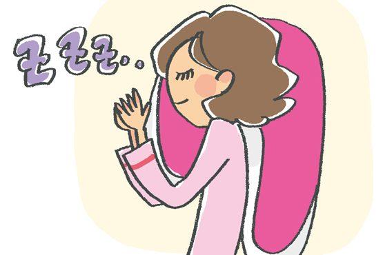 今すぐ実践!深睡眠を得るための対策法⑥いびき対策用枕など