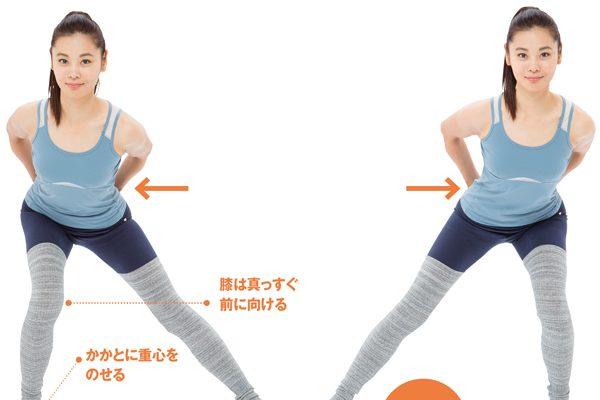 お尻を鍛えるための最強3ステップ体操 STEP3「鍛える」