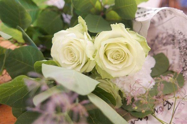 娘からの花と初夏のおもてなし