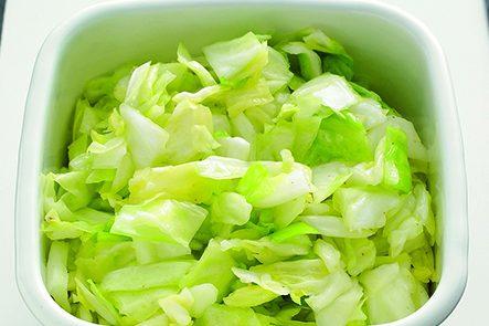 PART1「まとめ野菜」ストック⑦ザク切りキャベツストック/作り方