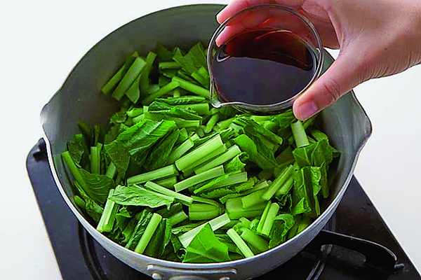 PART1「まとめ野菜」ストック①小松菜の煮びたしストック/作り方