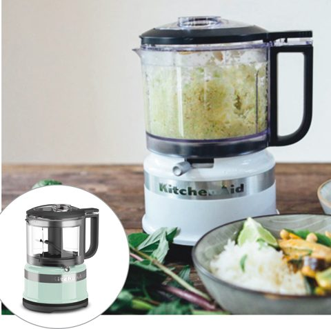KitchenAid キッチンエイド3.5カップ ミニフードプロセッサー(ホワイト、アイスブルー 各1名)