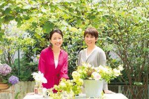 羽田美智子さんの「花を生ける暮らし」/フラワースタイリスト&インスタグラマー増田由希子さんに習う