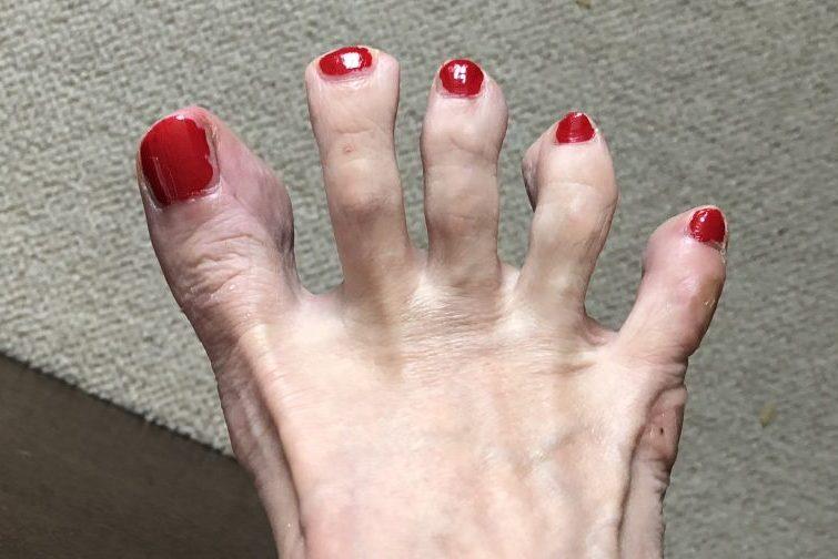 「冷え対策」として、湯船の中での足指運動は欠かしません!