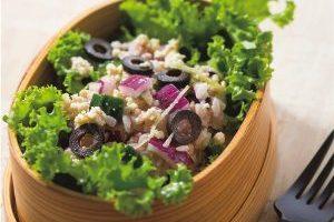血糖値上昇が緩やかで栄養豊富/お肉もしっかり昼食メニュー④そぼろサラダ寿司