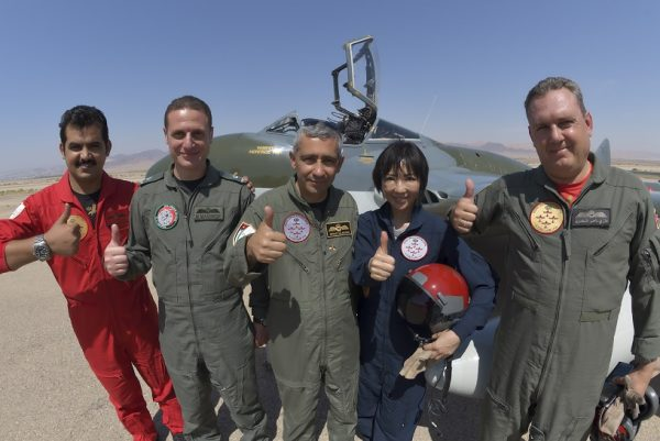 ヨルダンで体験したアクロバット飛行/ ロイヤル・ジョルダニアン・ファルコンズ