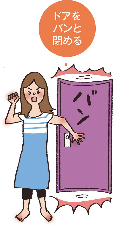 心の整理術 ドアを閉める