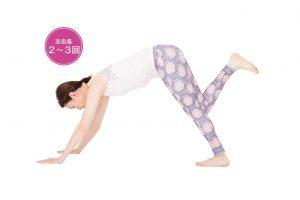 50代のストレッチ⑭脚の疲労やむくみを防ぐ「下腿三頭筋」のストレッチ