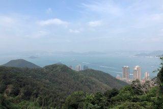 香港、二度目のビクトリアピーク