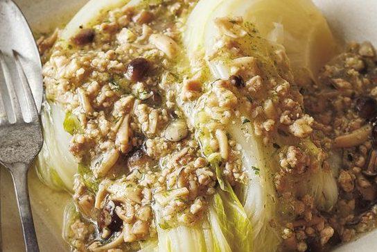 「作りおき」で毎日手軽に「きのこパワー」を摂取!⑦「肉味噌しめじ」で「とろとろ白菜のあんかけ」