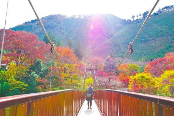 多摩川上流の御岳渓谷で秋を遊ぶ! 写真に収めた秋をご紹介します