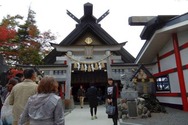 富士山五合目へ、神社の正式参拝に行ってきました