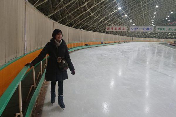 32年ぶりに銀盤に立った! 秋田県立スケート場に行ってみたら……