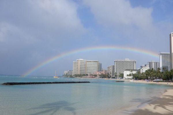 初めてのハワイで、ホノルルマラソンを走ってきました!