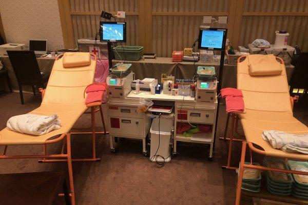 30年ぶりの献血へ。ザ・リッツ・カールトン京都の地域活動の一環なんです