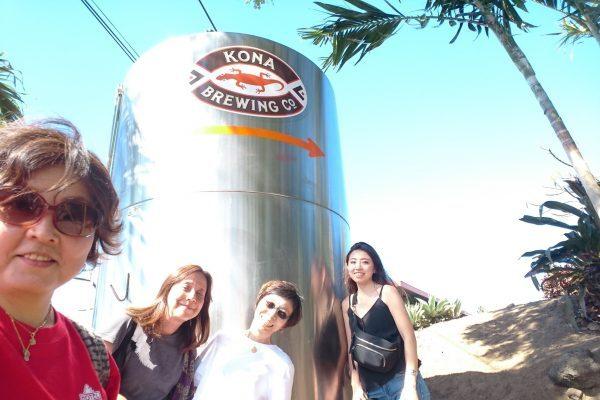 ハワイの地ビール、「コナブリューイング」の出来立てビールは最高です!