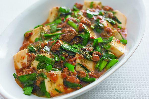 PART3「おかずの素」ストック⑥ピリ辛肉みそを使った「マーボー豆腐」