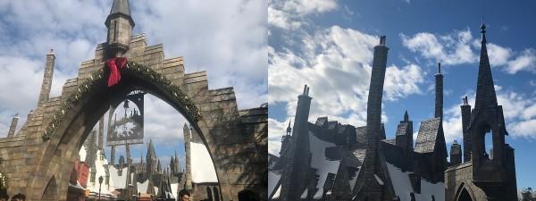 小林さん 入口と城