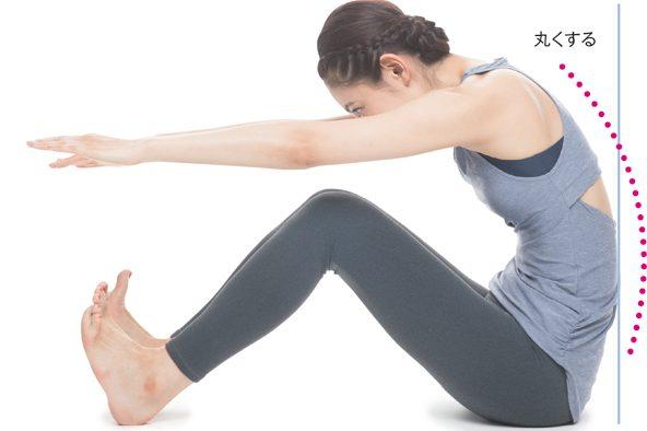 呼吸改善エクササイズ/Step3 背骨の柔軟性を取り戻す