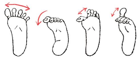 足のつり_ill