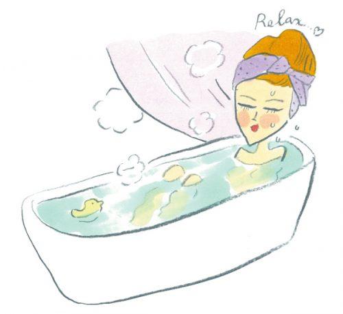 疲れる生活習慣③入浴