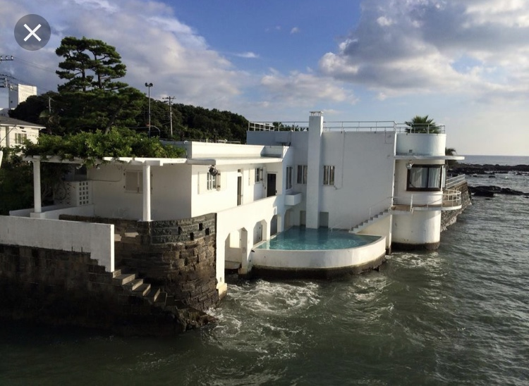 朝倉さん 佐島の北原邸