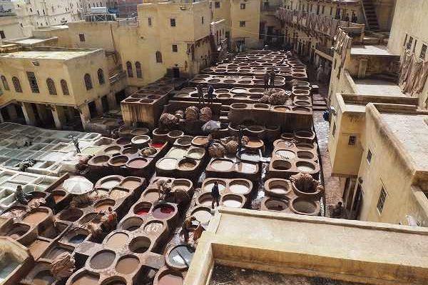 モロッコで異国情緒を満喫する旅  その2 ローマの遺跡から迷路の街フェズへ