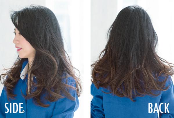 美髪セミロング 松岡さん2