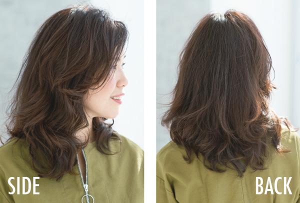 美髪セミロング 上井さん2