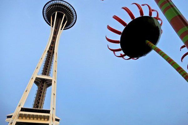 9時間の楽々フライト、シアトルでOld & Newをチェック