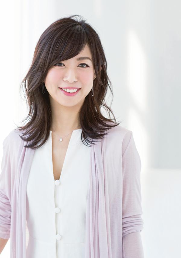 美髪セミロング トレンドセミロング 前田さん
