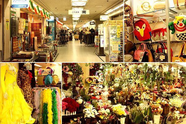 【大阪市中央区】1㎞連なる超巨大ショッピングゾーン