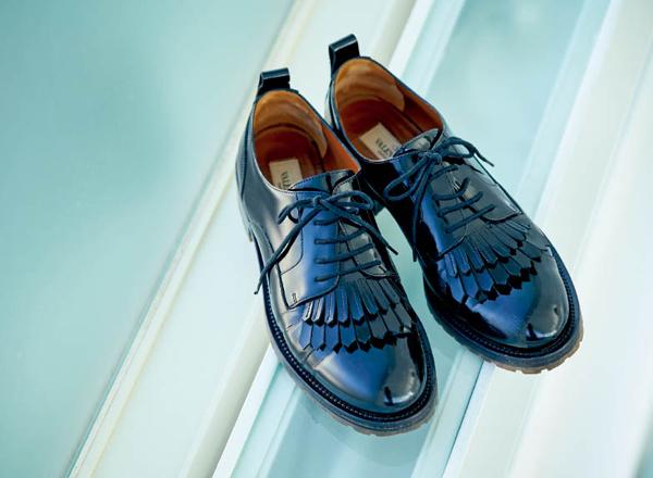 松本千登世さん 靴