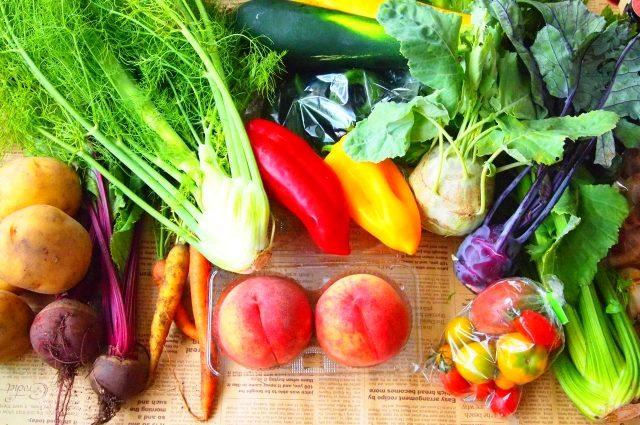 夏野菜&果物で楽しむイタリアのテーブル