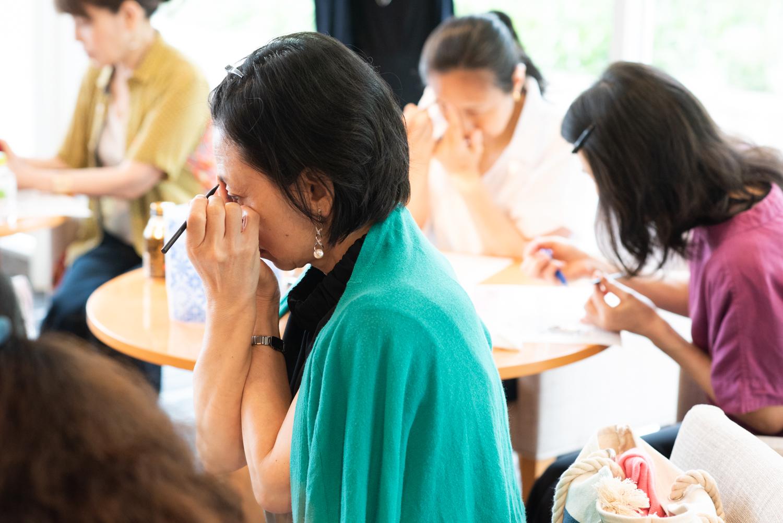 あなた、眉で損してませんか?大人の眉は○線がベスト「大人の美眉&目ヂカラバッチリメイクセミナー」が開催されました